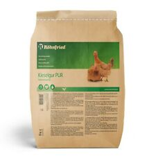 Röhnfried Kieselgur PUR 3 kg (geeignet für Geflügel - bei Raubmilben - Klima)