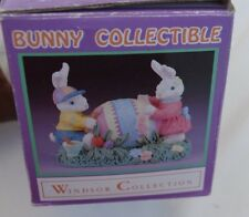 Windsor Collection Bunny Collectible Easter Bunny Egg