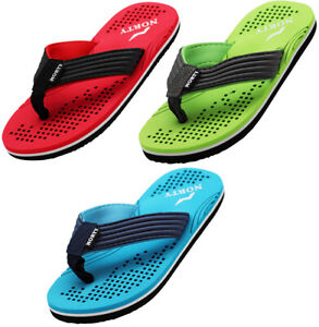 Norty Boy's Flip Flop Thong Sandal Perfect for the Beach, Pool or Everyday