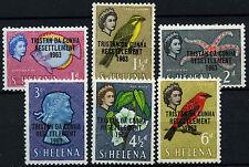 Tristan Da Cunha 1963 SG#55-60, 1d-5d Definitives MH #D25608