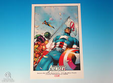 Avengers Limited Edition Print 2009 Earth's Mightiest Heroes Marvel Comics