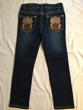 Girls Vigoss Skinny Jeans, Super Stretch With Adjustable Waistband Size 5 NEW