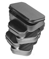 Lot of 5 Blank Altoids Type Metal Tin Box, Survival Kit Container #2