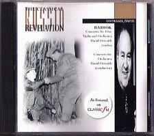 David Oistrakh: Bartók Concerto 1 Rozhdestvensky CD Concerto for Orchestra
