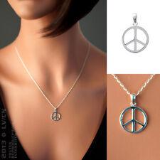 PENDENTIF Peace & Love en ARGENT 925 neuf - 1705800 - BigBang-Bijoux.com
