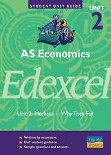 Good, AS Economics Edexcel Unit 2: Markets Why They Fail Unit Guide (Student Uni