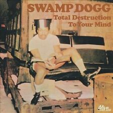 SWAMP DOGG Total Destruction To Your Mind CD NEW RE Alive Records 0141-2 funk