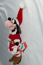 Disney Goofy Christmas Plush Doll Santa with Long Coat Paris