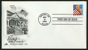 #2897 32c Flag Over Porch, Art Craft FDC ANY 5=