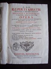 R. D. D. Ruperti Abbatis Opera - T.1