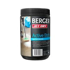 Berger Jet Dry ACTIVE ETCH 1kg, Improves Paint Adhesion to Bare Concrete