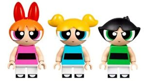 LEGO  Powerpuff Girls  – Blossom, Bubbles and Buttercup Minifigures