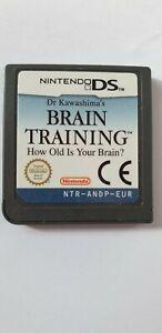 DR KAWASHIMA'S BRAIN TRAINING GAME - NINTENDO DS 3DS DSI - UK SELLER