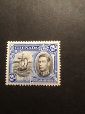 Grenada SG 161 GVI 1938 Black And Ultra Lightly Mounted Mint.