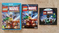 LEGO MARVEL Wii U Nintendo / dvd sans rayure