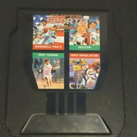 NES Ninendo Super Sports Challenge 1992 Game Cartridge - 4 In 1 Game Codemasters