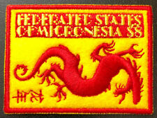 Micronesia 2011 Lunar New Year China Dragon Embroidered stamps Stickereimarke **