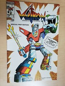 Voltron #1 Modern Comics 1985 Defender of the Universe Special 1st Print