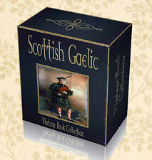 Learn Scottish Gaelic Language 160 Rare Books on DVD Grammar Speak Read Write E4