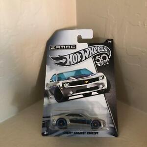 Hot Wheels Zamac Chevy Camaro Concept #2/8 50th Anniversary V39