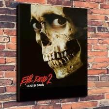 "Evil Dead 2 Printed Box Canvas A1.30""x20""- Deep 30mm Frame Horror Halloween"