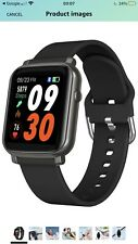 Smart Watch Fitness Tracker Waterproof Bluetooth Watch With Phone Call Sms Alert
