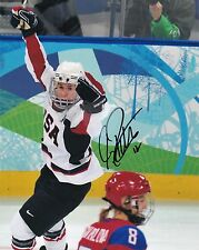 "Jenny Potter Team USA Women's Hockey Autographed 8"" x 10"" Photo"