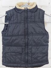 Gymboree - Black Quilted Winter Vest Jacket - Little Boys Size XS 3-4