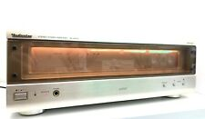 TECHNICS SE-A1010 Stereo Power Amplifier Hi End 140 W RMS Vintage 1999 Like NEW