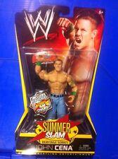 "WWE Mattel JOHN CENA Summerslam Basic 6/7"" FIGURE -- LIMITED EDITION"