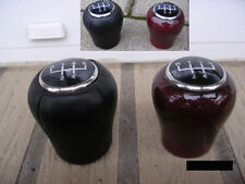 Schaltknauf  aus Leder oder Holz für Opel-Modelle mit RGA System NEU 5-6-Gang