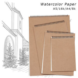 Pupil Learning Watercolor Paper Sketchbooks Graffiti Sketch Painting Notebook