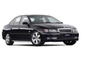 Holden Caprice WL (2004-2006) Boot Lip Spoiler- MATTE BLACK
