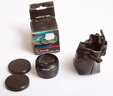 VANGUARD CL-301/46 Video Conversion Lens 46MM 1.5 X 0.5X Twin. Boxed with pouch