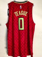 Adidas Swingman 2015-16 NBA Jersey Atlanta Hawks Jeff Teague Red Alt sz 2X