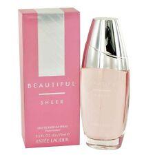 Beautiful Sheer by Estee Lauder for Women 2.5 oz Eau De Parfum Spray New in Box