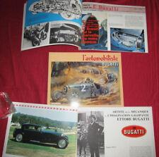 L'automobiliste N°67 :  BUGATTI  : type 13, 35 ,51 ,57 .... et palmarès 1921-39