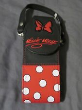 New Vintage Walt Disney World Minnie Mouse Soft Cell Phone Case with Strap