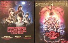 Stranger Things Complete FYC DVD Seasons 1 & 2 (7-disc LOT) Netflix Promo VG f/s
