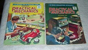 BUILDING A CLOCKWORK DRIVEN MODEL RACING CAR ARTICLE PRACTICAL MECHANICS 1953