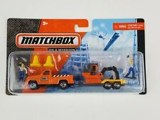 2011 Matchbox Die Cast Hitch & Haul Construction Kings set