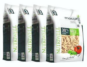 Pasta Proteína Maccarozone Dieta A Zona Bolígrafos 4 Paquetes Ciao Carb