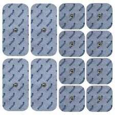 12 electrodos (8*45x45mm + 4*50x100mm) Para Vitalcontrol Beurer Sanitas o Hydas