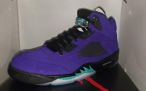 NEW Air Jordan Retro Alternative Grape 5s Shoes Size 11 IN HAND 100% AUTHENTIC