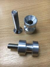 Aluminium Paddock Stand Bobbins, M8 Fitment, Honda Suzuki, Made in the UK