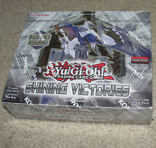 Yu-Gi-Oh Shining Victorys 1st Ed. Edition New Sealed Booster Box YuGiOh Cards PK