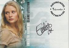 Emilie de Ravin 2006 Inkworks LOST autograph auto card A-13
