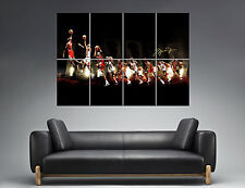 Michael JORDAN Dunk Design Mural Wall Art Poster Grand Format A0 Large Print Part 76
