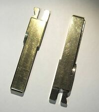 Two Key Porsche Uncut Replacement Blade Blank Model Years 1992 - 2012