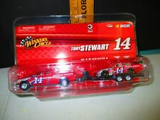 2009 Winners Circle Tony Stewart #14 Car Hauler Set 1/64